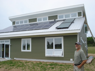 Small solar homes plans home design and style for Solar powered home designs
